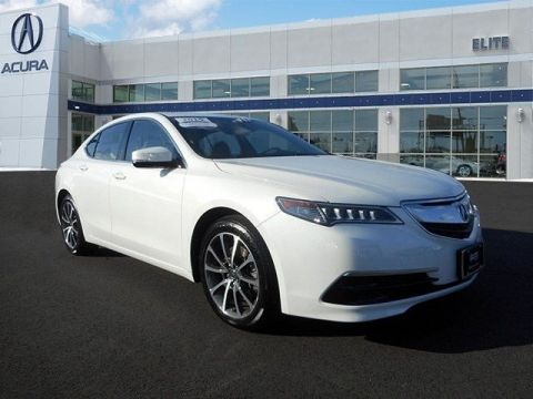 Certified Pre-Owned 2015 Acura TLX 3.5 V-6 9-AT P-AWS Front Wheel Drive Sedan