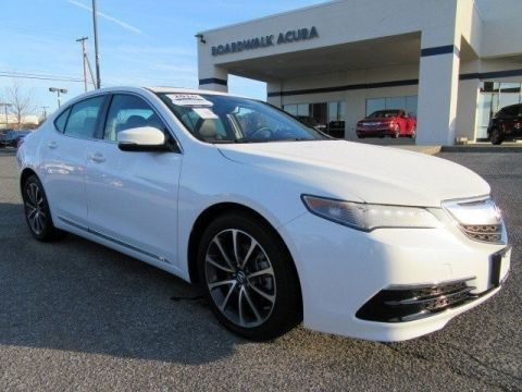 Certified Pre-Owned 2016 Acura TLX V6 Tech Front Wheel Drive 4dr Car