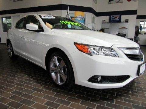 Certified Pre-Owned 2014 Acura ILX Premium Pkg Front Wheel Drive Sedan