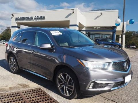 Certified Pre-Owned 2017 Acura MDX SH-AWD with Advance Package SUV