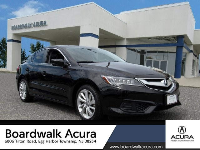Acura Sedan 2017 >> Certified Pre Owned 2017 Acura Ilx With Technology Plus Package