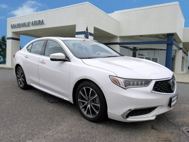 PreOwned Acura TLX V WTechnology Pkg Sedan In Egg Harbor - 2018 tlx acura