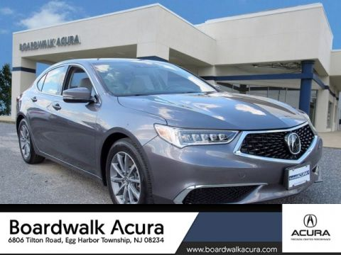 Certified Pre-Owned 2018 Acura TLX 2.4 8-DCT P-AWS with Technology Package With Navigation -