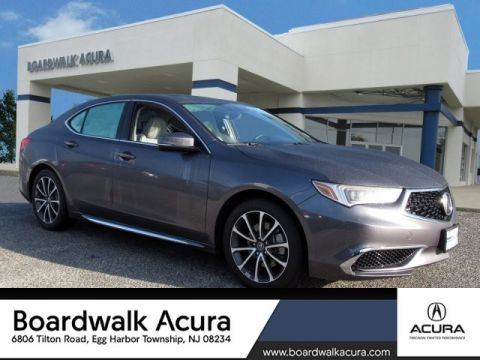 Certified Pre-Owned 2018 Acura TLX 3.5 V-6 9-AT P-AWS with Technology Package With Navigation