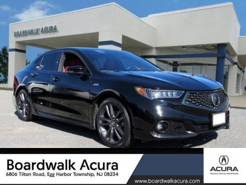 Certified Pre-Owned 2018 Acura TLX 3.5 V-6 9-AT P-AWS with A-SPEC RED
