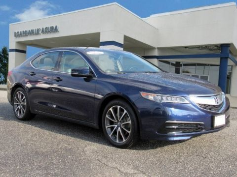 Certified Pre-Owned 2015 Acura TLX 3.5 V-6 9-AT SH-AWD with Technology Package 4dr Car