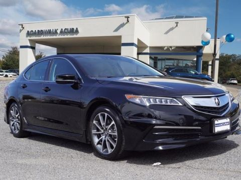 Pre-Owned 2017 Acura TLX V6 w/Technology Pkg AWD