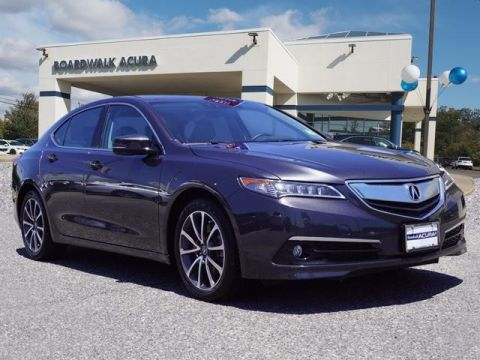 Certified Pre-Owned 2015 Acura TLX 3.5 V-6 9-AT SH-AWD with Advance Package Sedan