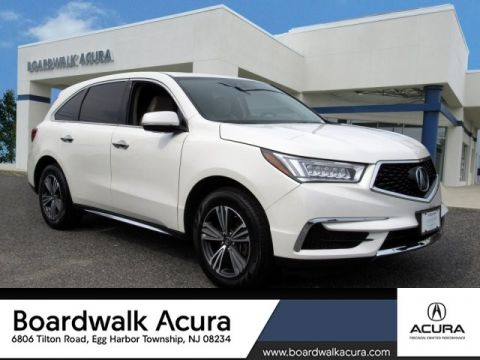 Certified Pre-Owned 2017 Acura MDX SH-AWD SUV