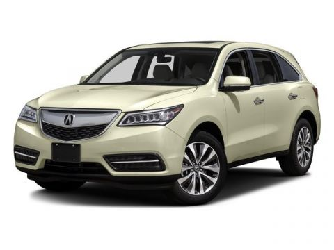 Certified Pre-Owned 2016 Acura MDX w/Tech AWD