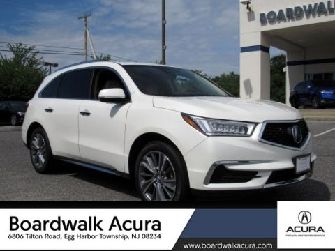 Certified Pre-Owned 2017 Acura MDX SH-AWD with Technology Package SUV