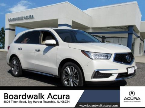 Certified Pre-Owned 2017 Acura MDX SH-AWD with Technology and Entertainment Packages SUV