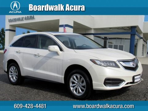 Certified Pre-Owned 2016 Acura RDX Tech Pkg AWD