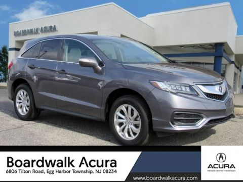 Certified Pre-Owned 2017 Acura RDX w/Technology Pkg AWD
