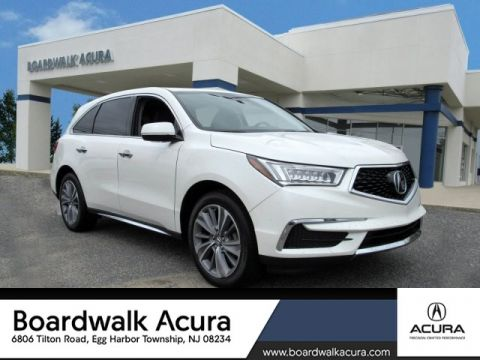 Certified Pre-Owned 2018 Acura MDX SH-AWD with Technology Package SUV